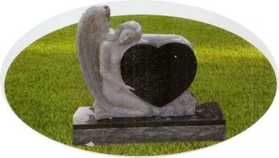 Custom Angel (Black Granite)